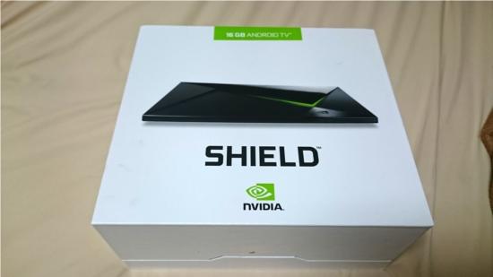NVIDIA SHIELD STBが届きました【開封の儀】