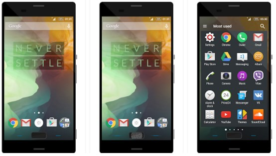 Theme OnePlus Two (OxygenOS)