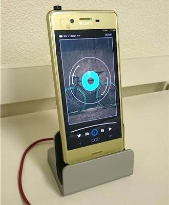 Xperia X Performance 卓上ホルダー 「Vikoo」レビュー。カッコイイじゃん!