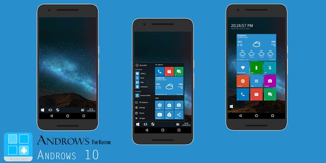 【KLWP】なかなかの再現性。Windows 7、Windows 10風の無料テーマが配信中