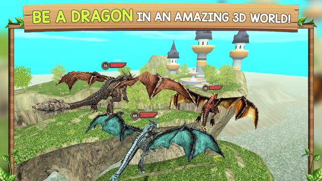 近頃地味ハマり中の逆モンハンゲー「Dragon Sim Online: Be A Dragon」