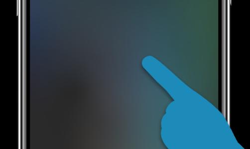 iPhoneXに搭載された9種類のスワイプジェスチャー一覧