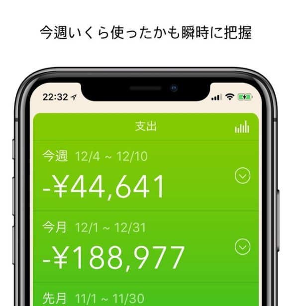 iphone-app-monetree-monthly-and-weekly-result-view