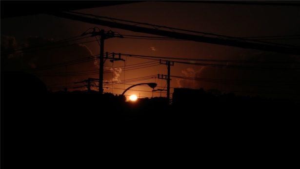 Z-01Kで夕焼けを撮影