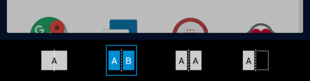 Z-01Kの画面分割方法
