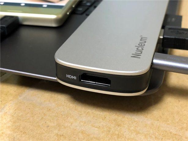USB Type-Cハブ HDMIポート