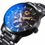BesTn出品 S2SQURE機械式腕時計ブラック