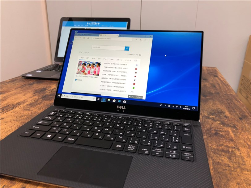 DELL New XPS 13 レビュー