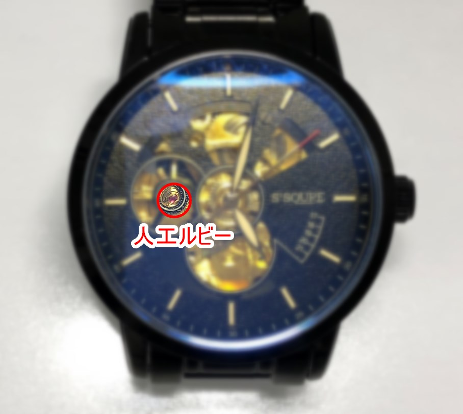 BesTn出品 S2SQURE 機械式腕時計に使われた人工ルビー