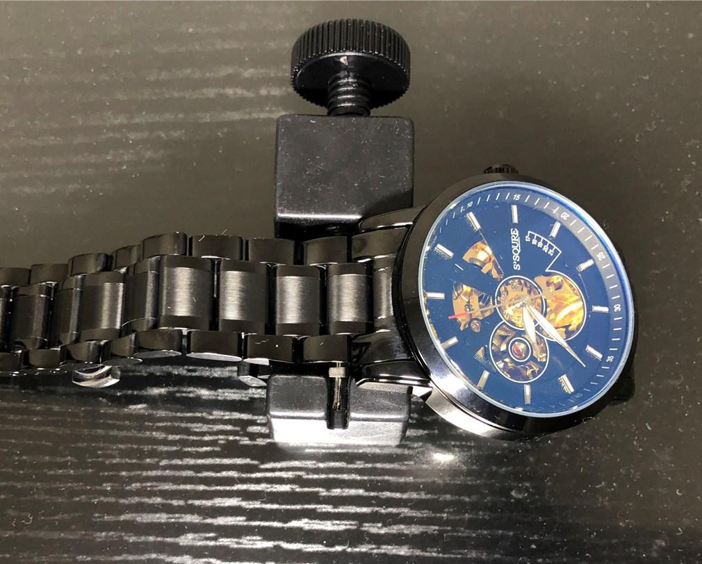 BesTn出品 S2SQURE 機械式腕時計のバンド調節器