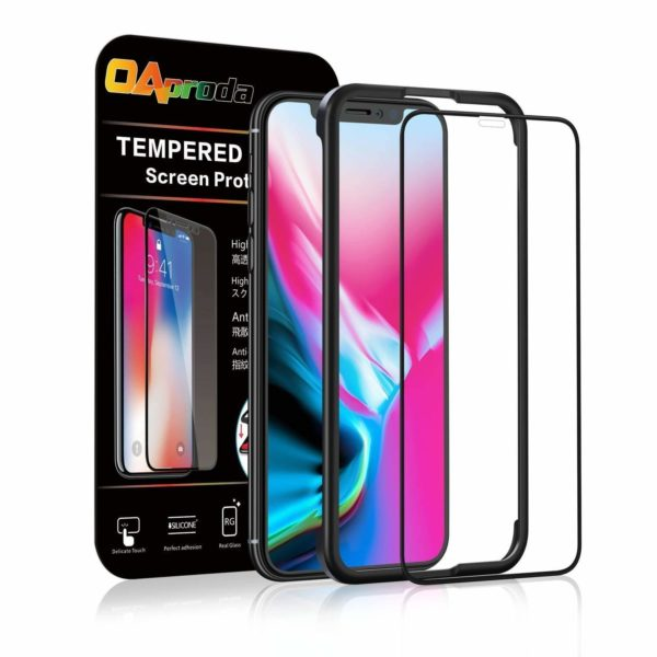 OAproda iPhone X iPhone XS 全面保護フィルム