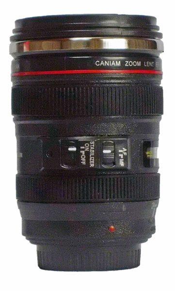 カメラレンズ型 タンブラー