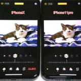 iPhone11proとiPhoneXで被写界深度を調節